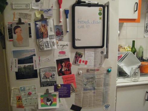 fridge altar